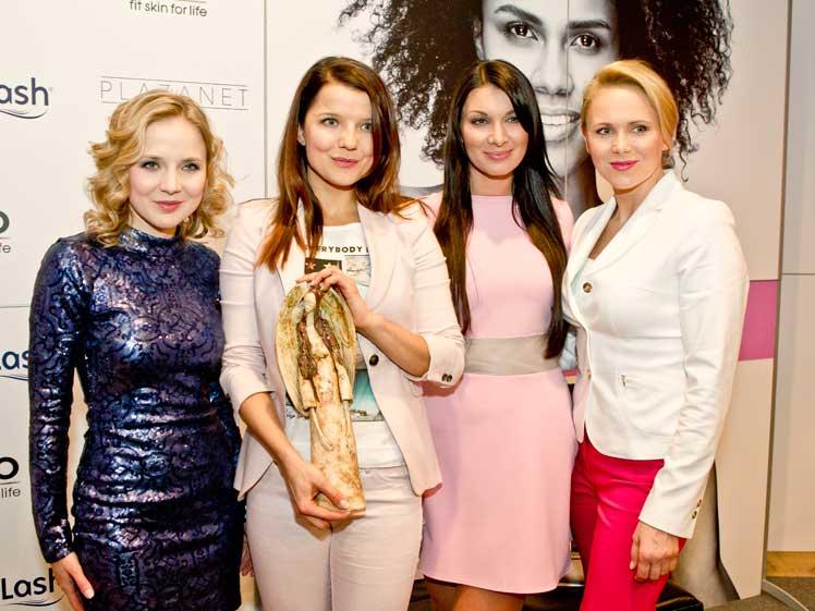 Joanna Kostrzewska, Joanna Jabłczyńska, Aleksandra Majorek, Anna Samusionek