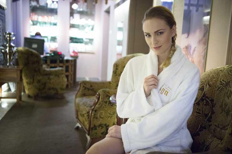 Spa w Hotelu Zamku Ryn mieści się w gotyckich podziemiach (fot. materiały prasowe)