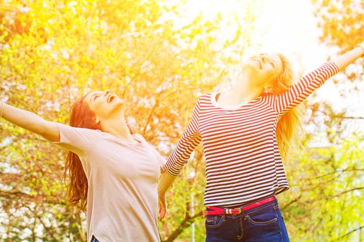 Wiosna to dobry moment, by poczuć się dobrze we własnym ciele (fot. Fotolia)