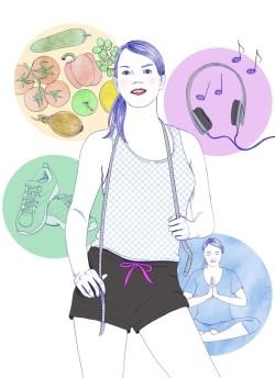 odchudzanie dieta odżywianie waga psychologia styl życia zrowe jedzenie