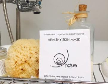 tetujemy kosmetyki biocelulozowa maska nature cosmetics ślimak