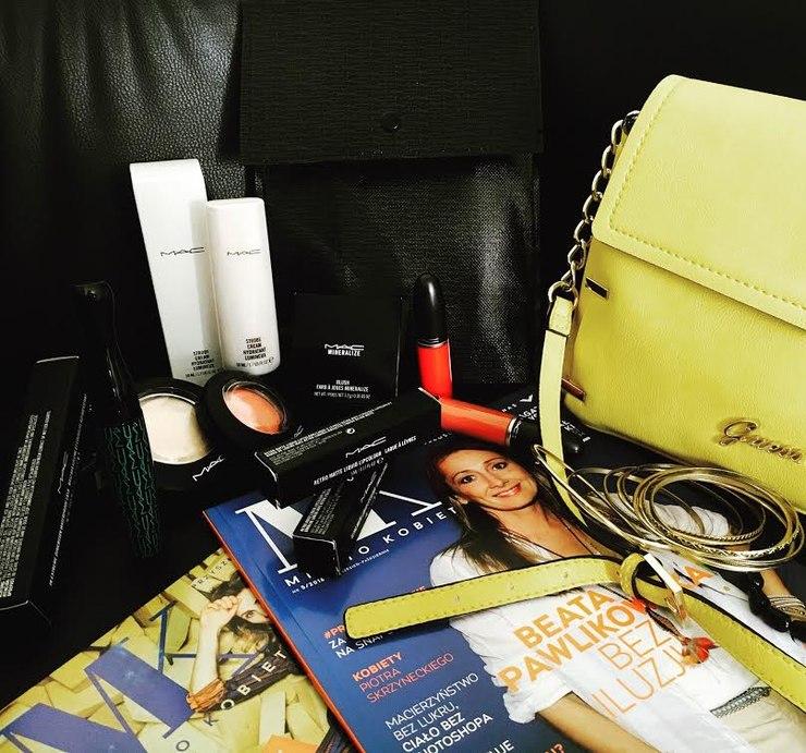 Zestaw od MAC Cosmetics specjalnie dla zespołu Beauty Test <3 / fot. redakcja