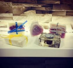 Pięknie opakowane mydełka pobudzają zmysły / fot. redakcja