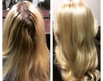 Przed i po / fot. Anna Górecka