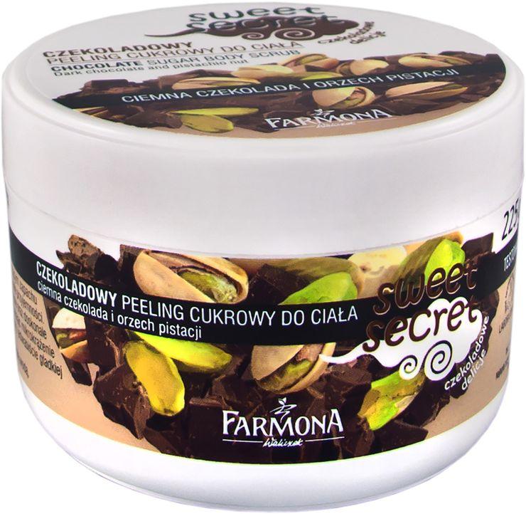 czekoladowy peeling cukrowy / fot. materiały promocyjne FARMONA