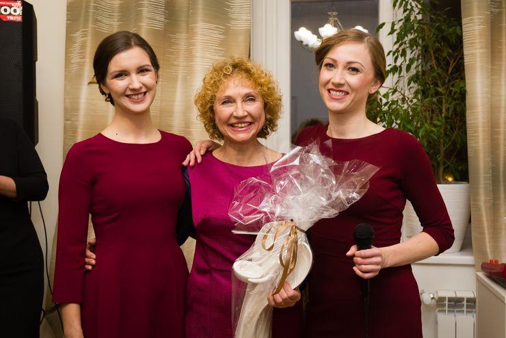 Zespół LuVital: od lewej Ewelina Grzesikowska, Ludmiła Petrenko, Natalia Maśnik / fot. MamiFotoStudio
