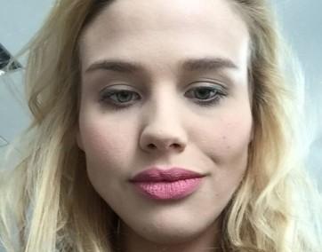 Kaja przetestowała I love latte lips 2 in 1 lipstick&liner marki MySecret