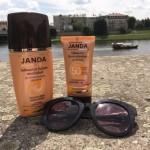 Przygotowania do słonecznych kąpieli, czyli testujemy serię Janda do opalania
