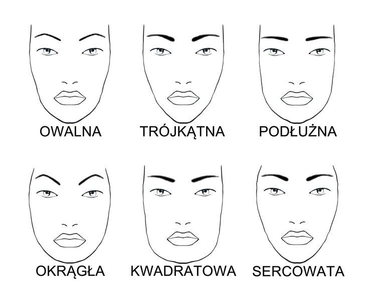 brwi, kształt twarzy, kosmetyki, twarz owalna, twarz okrągła, twarz podłużna, lash brow