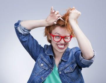 kobieta, włosy, rude włosy, uroda, wypadanie włosów, kolagen, zdrowie, zdrowe włosy, gęste włosy, zadbane włosy
