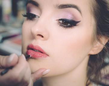 makijaż, letni makijaż, kobieta, lorigine, twarz