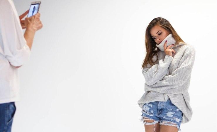 Przygotowywanie kampanii z Natalią / fot. materiały prasowe