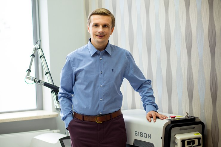 dr Marek Wasiluk / fot. A. Lewanowicz
