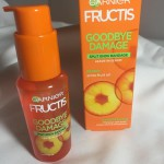 Opatrunek na rozdwojone końcówki, czyli test Serum Garnier Fructis Goodbay Damage