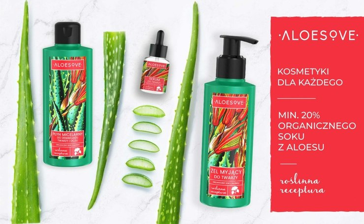 Seria Aloesove od Sylveco