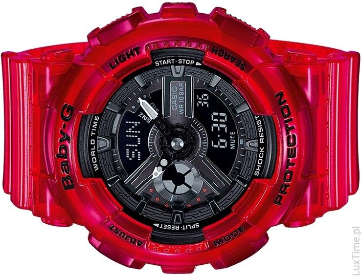 wyrazisty zegarek Casio