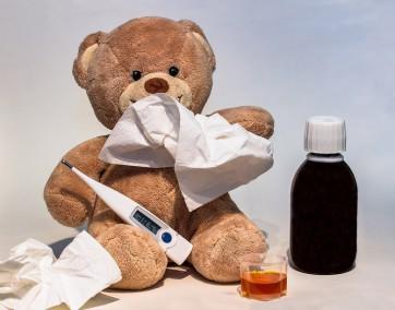jak ubrać chore dziecko