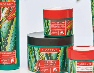 Aloesove nowa seria do ciała/ fot. materiały prasowe